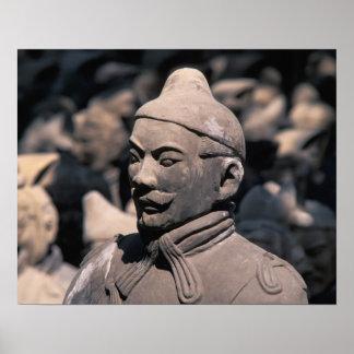 Terra Cotta warriors in Emperor Qin Shihuang's 2 Poster