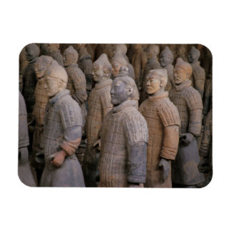 Terra Cotta warriors in Emperor Qin Shihuang's Magnet