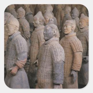 Terra Cotta warriors in Emperor Qin Shihuang's Stickers