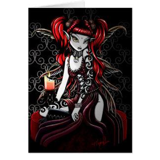 Terra Darkness Fire Fairy Card