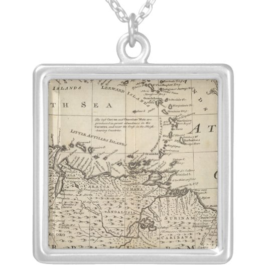 Terra Firma, Caribbean Silver Plated Necklace