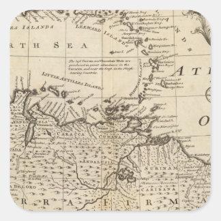Terra Firma, Caribbean Square Sticker