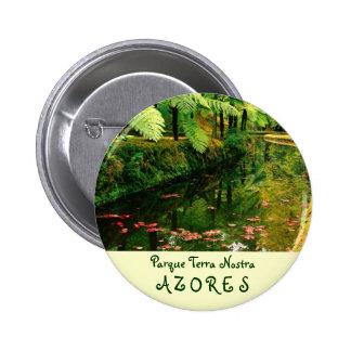 Terra Nostra, Azores 2 Inch Round Button