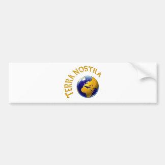 Terra Nostra Bumper Sticker