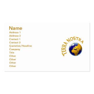 Terra Nostra Business Card