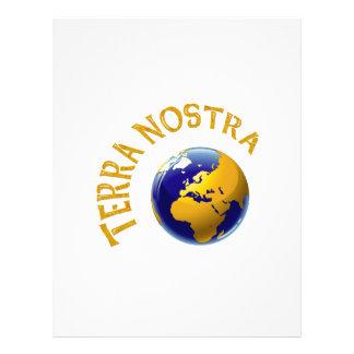 "Terra Nostra 8.5"" X 11"" Flyer"