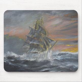 Terra Nova heads into a fierce Gale Dawn Mouse Pad
