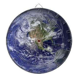 Terra Planet Earth Astronomy-lovers Dartboard