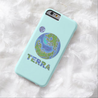 Terra Planet Earth Space Geek Blue And Green Barely There iPhone 6 Case
