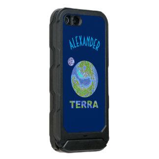 Terra Planet Earth Space Geek Blue And Green Incipio ATLAS ID™ iPhone 5 Case