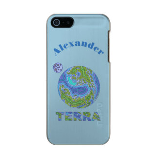 Terra Planet Earth Space Geek Blue And Green Incipio Feather® Shine iPhone 5 Case
