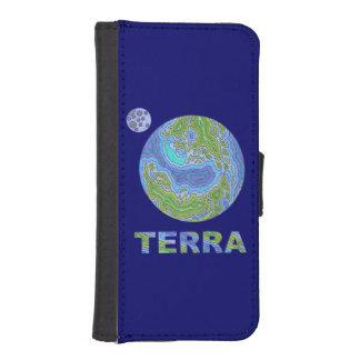 Terra Planet Earth Space Geek Phone Wallet