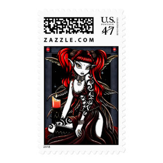 Terra Red Fire Faery Postage