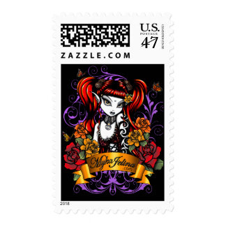Terra Rose Tattooed Fantasy Postage