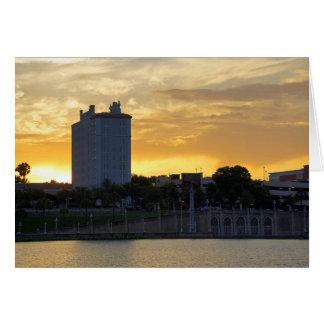 Terrace and Promenade Greeting Card