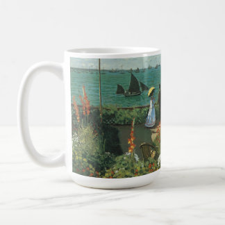 Terrace at the Seaside by Claude Monet Coffee Mug
