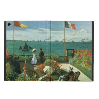 Terrace at the Seaside by Claude Monet Cover For iPad Air