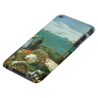 Terrace at the Seaside by Claude Monet iPod Touch Case