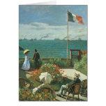 Terrace at the Seaside, Saint Adresse Claude Monet Cards