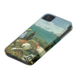 Terrace at the Seaside, Saint Adresse Claude Monet iPhone 4 Covers