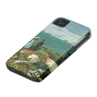 Terrace at the Seaside Saint Adresse Claude Monet iPhone 4 Covers