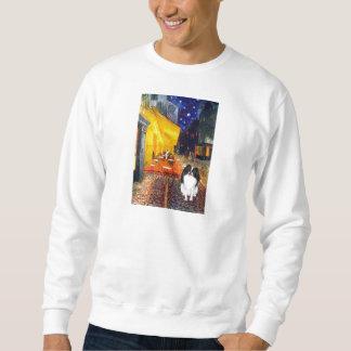 Terrace Cafe - Japanese Chin 3 Sweatshirt