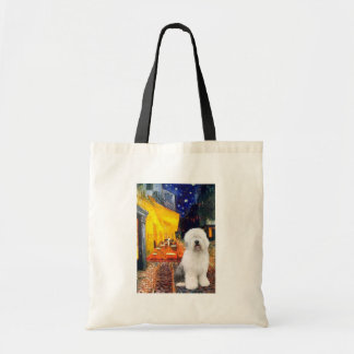 Terrace Cafe - Old English #3 Tote Bag