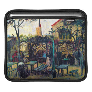 Terrace  Cafe on Montmartre Vincent Van Gogh Sleeve For iPads
