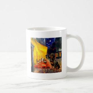 Terrace Cafe - Rottweiler Coffee Mug