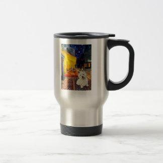 Terrace Cafe - Westie 1 Travel Mug