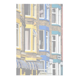 Terrace houses, Scarborough, North Yorkshire, Engl Stationery Design