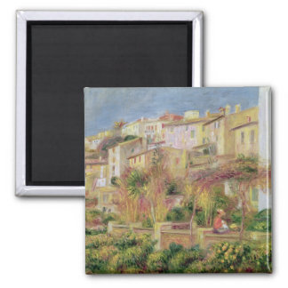 Terrace in Cagnes, 1905 Fridge Magnets