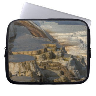 Terrace Mountain at Mammoth Hot Springs Computer Sleeve