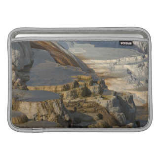 Terrace Mountain at Mammoth Hot Springs Sleeve For MacBook Air