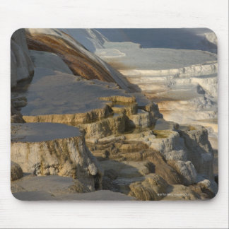 Terrace Mountain at Mammoth Hot Springs Mouse Pad