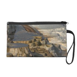 Terrace Mountain at Mammoth Hot Springs Wristlet