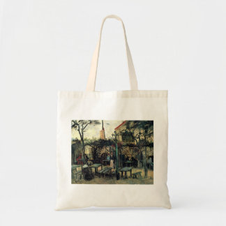 Terrace of a Cafe on Montmartre La Guinguette Tote Bag