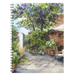 Terrace of The Manor House, York Notebook