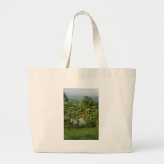 Terrace Ricefield in Bali Tote Bags