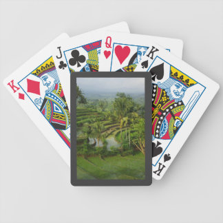 Terrace Ricefield in Bali Bicycle Poker Cards