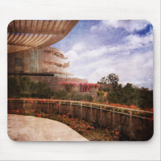 Terraced Architecture Mouse Pad