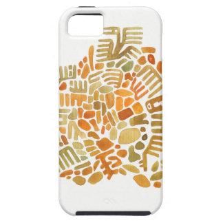 terracota creature mosaics iPhone SE/5/5s case