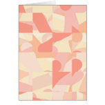 Terracota del modelo, rosa y colores abstractos de felicitacion