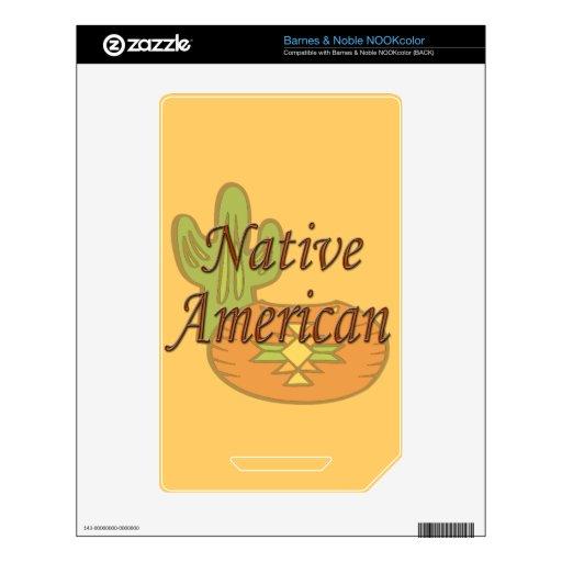 Terracota del nativo americano skins para NOOK color