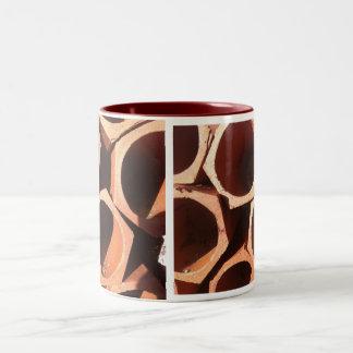 terracota pipes coffee mug