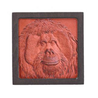 """Terracotta Ape"" by Carter L. Shepard"" Jewelry Box"