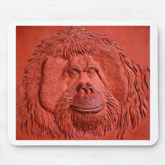 """""""Terracotta Ape"""" by Carter L. Shepard"""" Mouse Pad"""