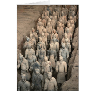 Terracotta Army Greeting Card