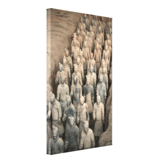 Terracotta Army, China Stretched Canvas Prints