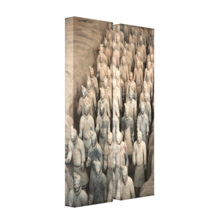 Terracotta Army, China Gallery Wrapped Canvas